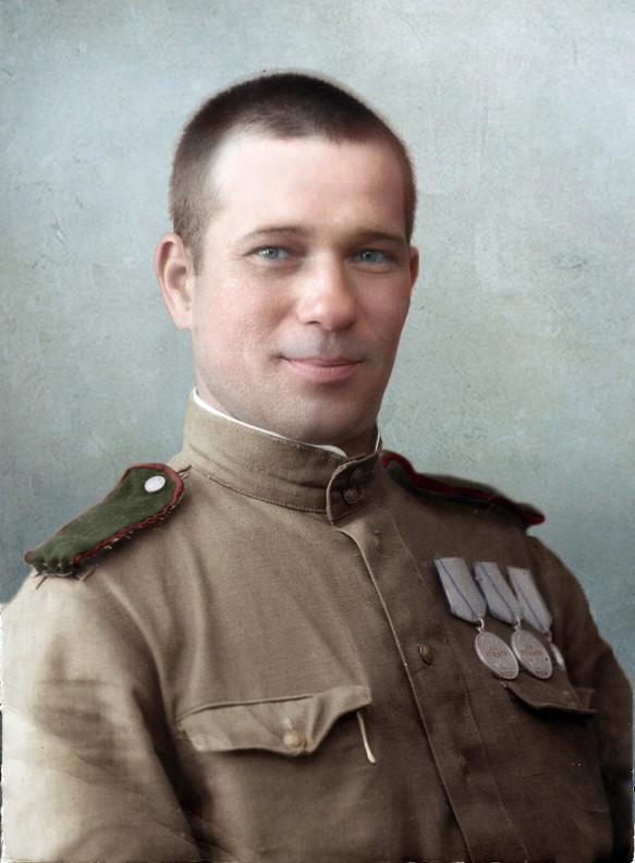 2 Герои Великой Отечественной войны в цветных фотографиях. (82 фото) О России